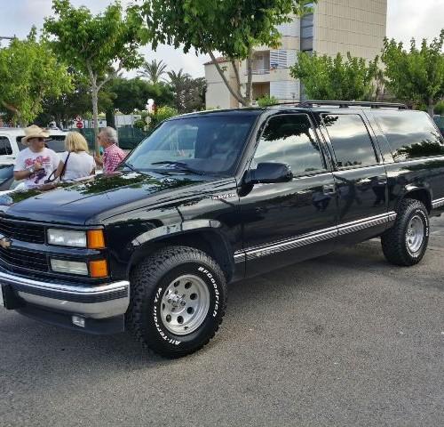 Alquiler amerciano vehiculos escena tyreaction barcelona Chevrolet suburban
