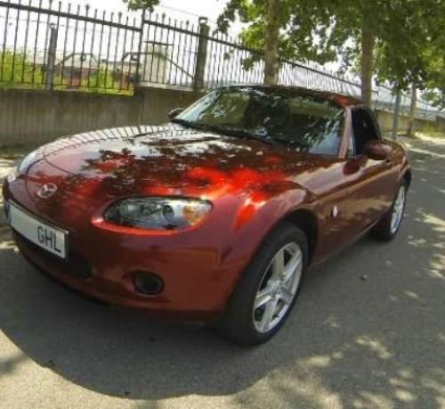 BD003 Mazda MX5 cabrio rojo (2)