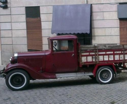 P0001 Citroen B14 camioneta 1933  granate