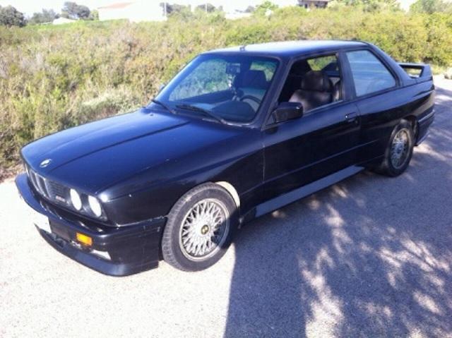 P0018 BMW serie 3 negro