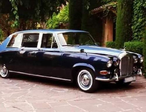 P0035 alquiler Daimler DS 420 limusina lujo Barcelona Tyreaction