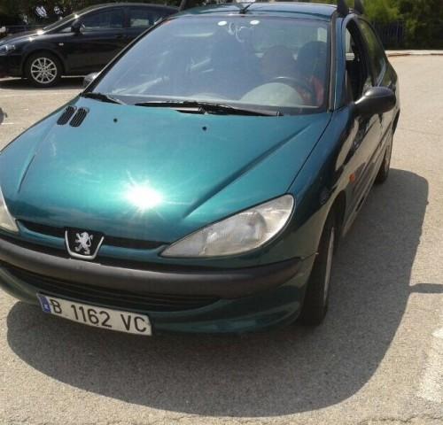 P0044 Peugeot 206 verde