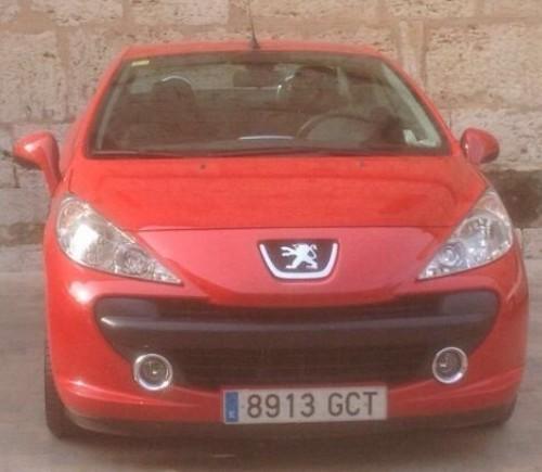 P0044 Peugeot 207 cc front