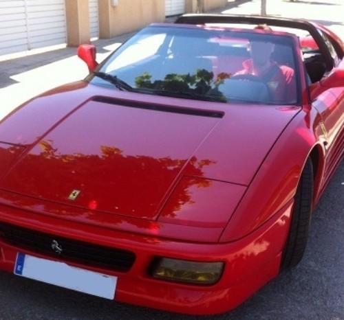 P0057 Ferrari 348 ts alquiler coches clasicos barcelona