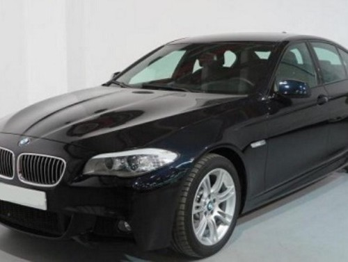 P0086 BMW 5 series black