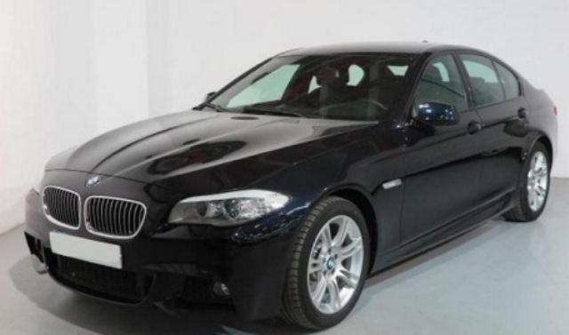 P0086 BMW 5 series black