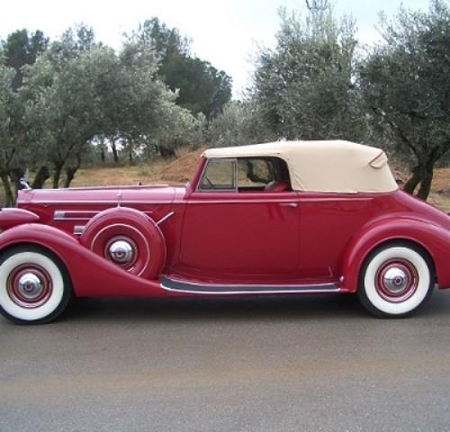 P0103 Packard Twelve Victoria 1937