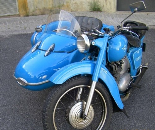 P0109 Sidecar azul front