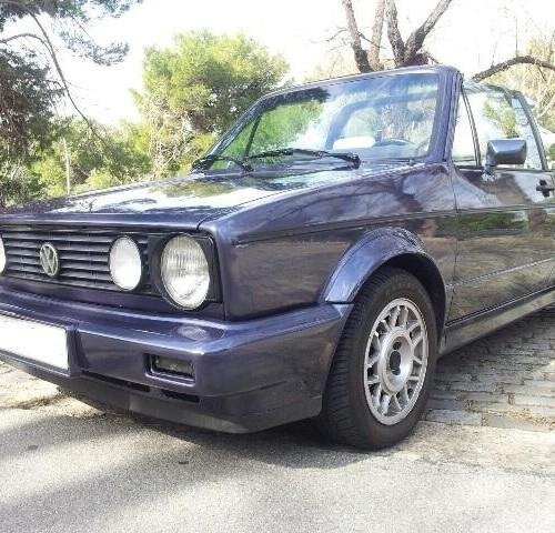 p0044 volkwagen golf 2 cabrio azul front
