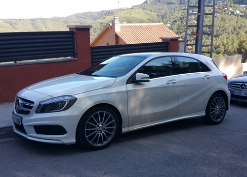 00001 Mercedes A 180 AMG front