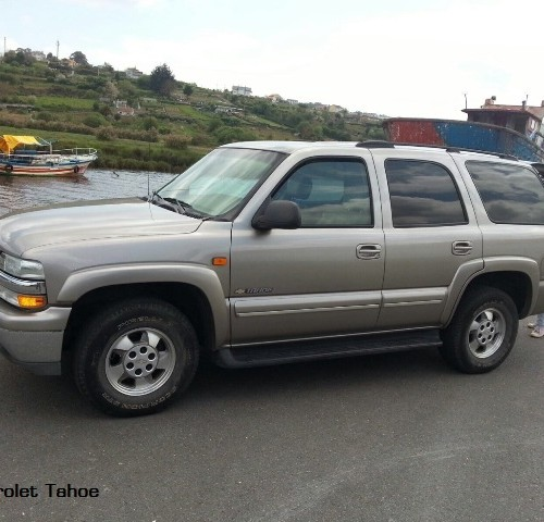 M00002 Chevrolet tahoe