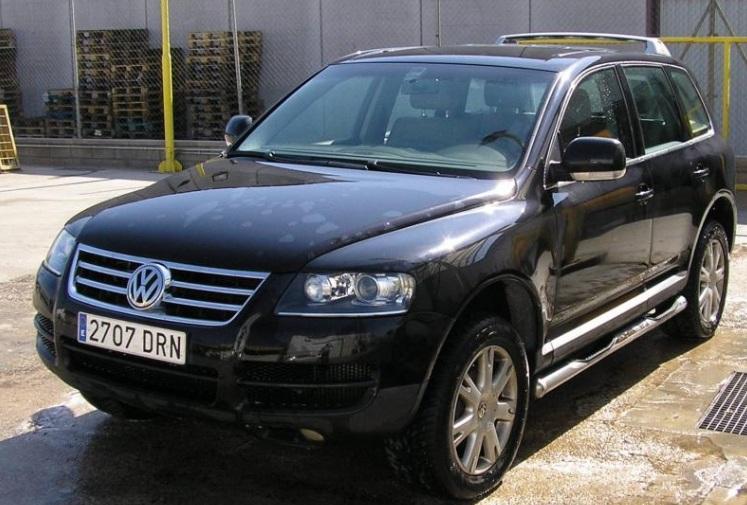 P0001 VW Tuareg