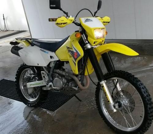 P0014 Suzuki DRZ front
