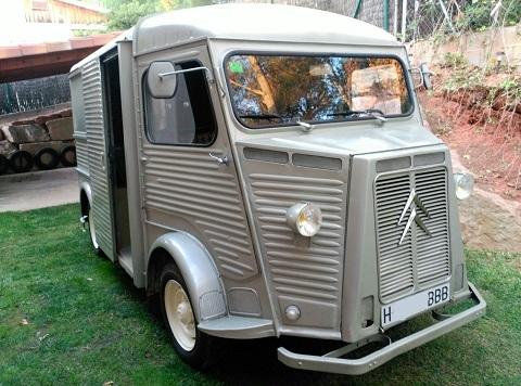 P0112 Citroen HY gris 1967