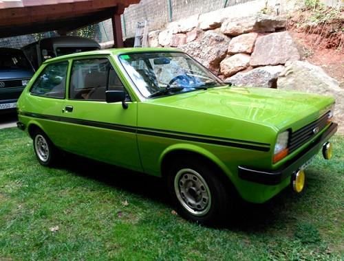 P0112 vw Ford Fiesta verde 1981