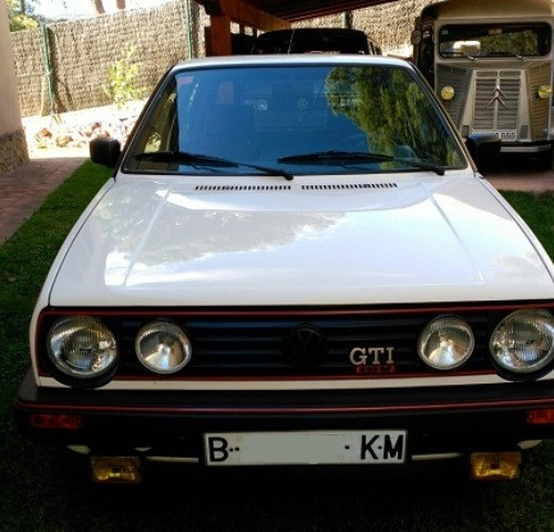 P0112 vw Golf GTI blanco 1969