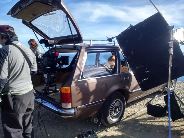 anuncio canal plus making off opel rekord vehiculos de escena tyreaction 3