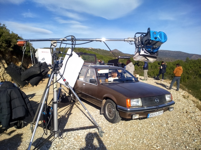anuncio canal plus making off opel rekord vehiculos de escena tyreaction 4