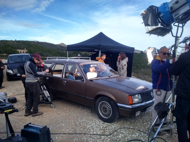 anuncio canal plus making off opel rekord vehiculos de escena tyreaction 5