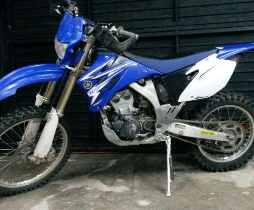 p0014 Yamaha Wr front