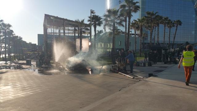 playboy anuncio alquiler coche policia americano vehiculos escena barcelona tyreaction 2