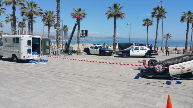 playboy anuncio alquiler coche policia americano vehiculos escena barcelona tyreaction 4