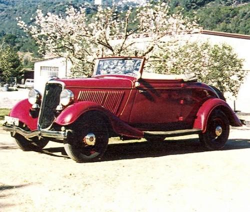 P0103 Ford V-8 Cabrio de 1934