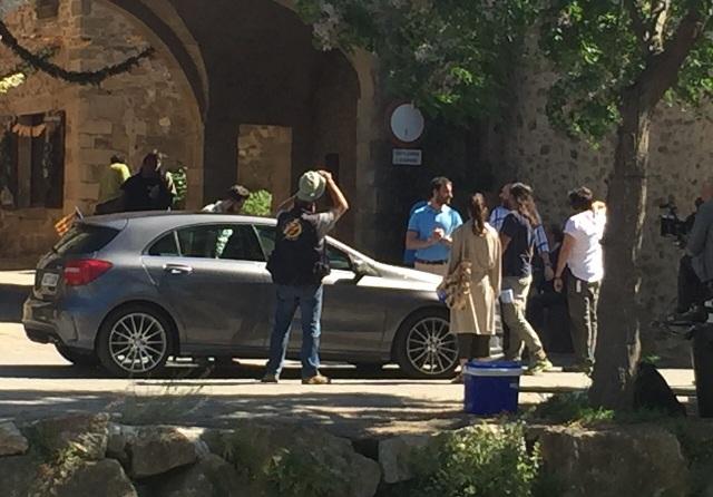 8 ocho apellidos catalanes making off vehiculos escena alquiler coche mossos esquadra tyreaction barcelona 2