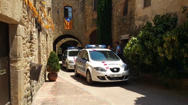 8 ocho apellidos catalanes making off vehiculos escena alquiler coche mossos esquadra tyreaction barcelona 3