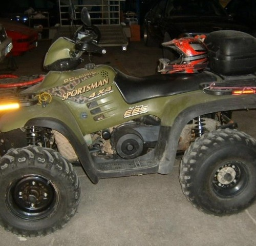 P0001 Quad ATV Polaris lat