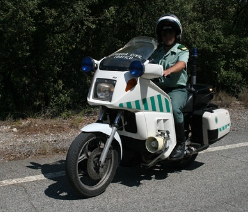 P0013 BMW K 75 Trafico guardia civil (2)