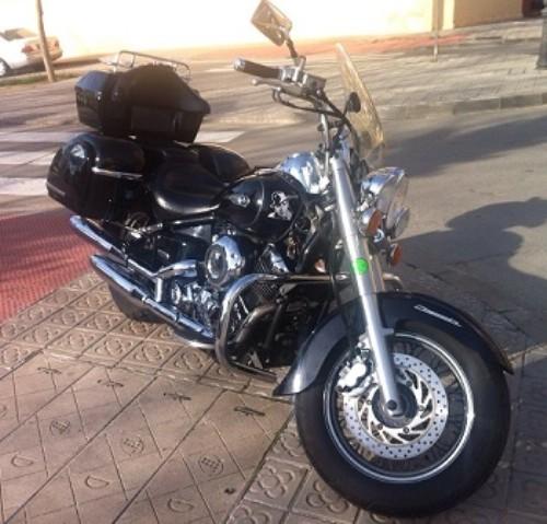 P0044 Yamaha Dragstar 650 Negra