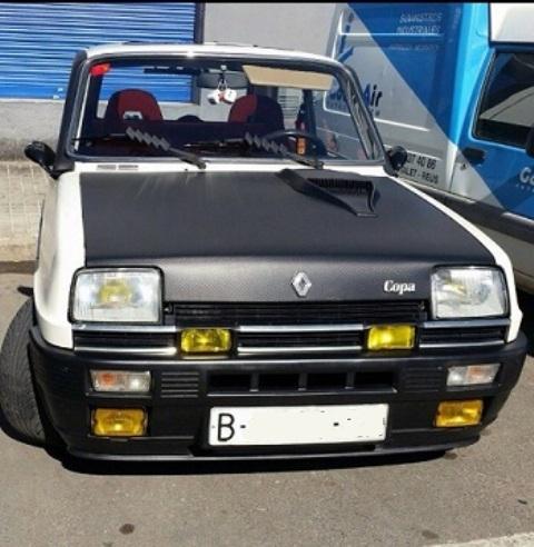 P0065 Renault 5 blanco