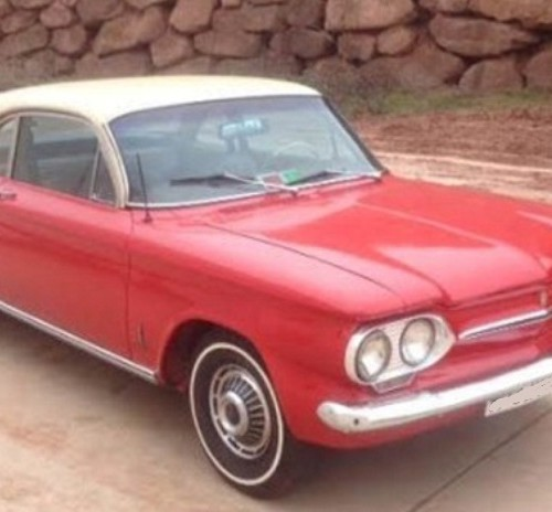 P0123 CHEVROLET CORVAIR 1963
