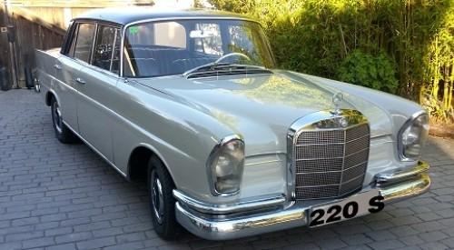 P0123 MERCEDES COLAS 220 S 1964