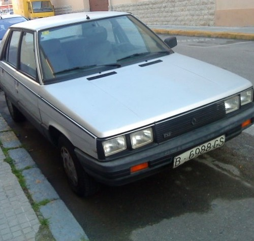 p0001 Renault 11 front