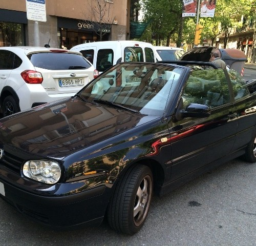 00001 Volkswagen  Golf 3 cabrio
