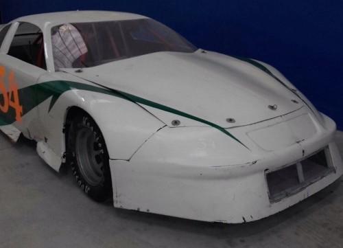 10401.1 alquiler coche carreras de la Nascar lemans indianapolis tyreaction front