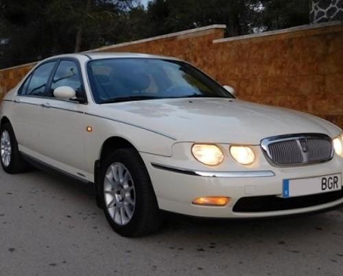 10409 Rover 75 v6 blanco