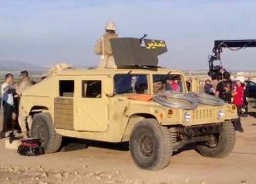 P0020 alquiler Humbee hummer h1 Militar para peliculas cine tyreaction