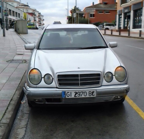 P0044 Mercedes E290 plata front