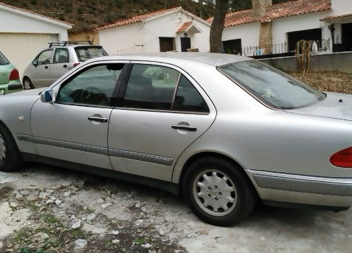 P0044 Mercedes E290 plata lat