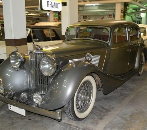 P0050 Jaguar SS plata front
