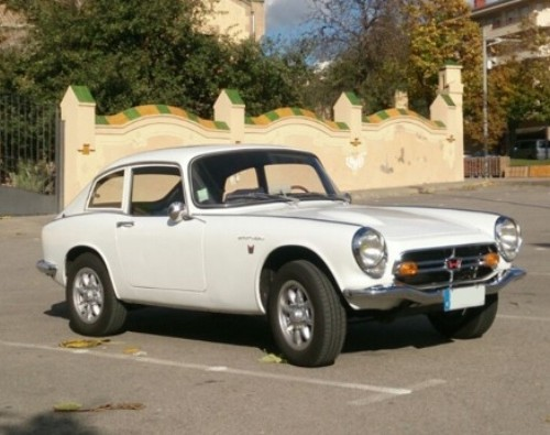 P0057 Honda S600 coupe blanco front