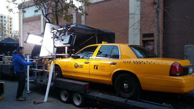 alquiler taxi nyc new york yellow cab en barcelona tyreaction anuncio vibbo making off taxi nyc vehiculos escena 1