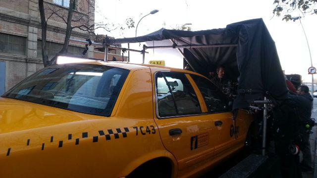 alquiler taxi nyc yellow cab en barcelona tyreaction anuncio vibbo making off taxi nyc vehiculos escena 1