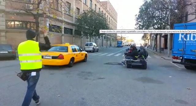 tyreaction anuncio vibbo making off taxi nyc vehiculos escena 1