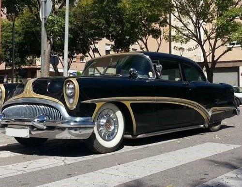 10412 Buick special coupe de 1953 V8 Tyreaction