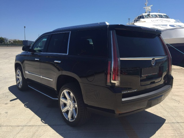 Cadillac Escalade 2015 Tyreaction tras