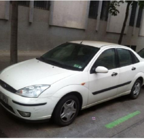 P0044 Ford Focus GHIA blanco